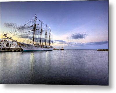 Port Of Call Pensacola Metal Print by JC Findley