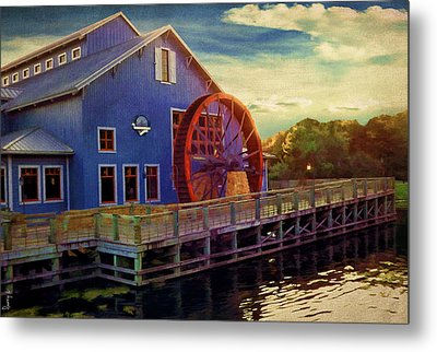 Port Orleans Riverside Metal Print by Lourry Legarde
