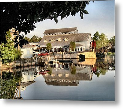 Port Orleans Riverside Metal Print by Nora Martinez