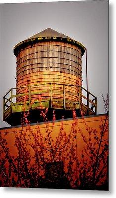 Portland Water Tower IIi Metal Print by Albert Seger