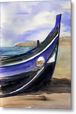 Portoboat Metal Print by Anselmo Albert Torres