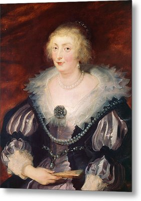 Portrait Of A Lady Metal Print by Peter Paul Rubens