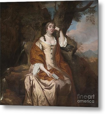 Portrait Of Anne Hyde Duchess Of York Metal Print by Celestial Images
