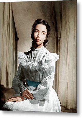 Portrait Of Jennie, Jennifer Jones, 1948 Metal Print by Everett