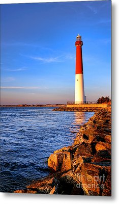 Postcard From Barnegat  Metal Print by Olivier Le Queinec