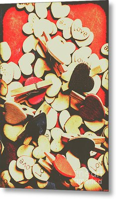 Postcard From Lovers Old Metal Print by Jorgo Photography - Wall Art Gallery