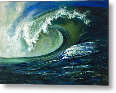 Power Metal Print by Billie Colson