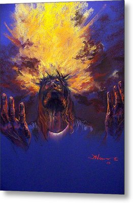 Power From On High Metal Print by Tommy  Winn