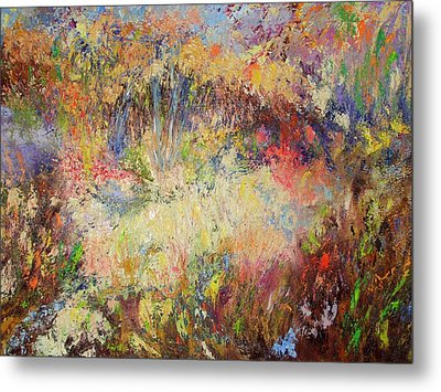 Prairie Dance Metal Print by Rose Fisher