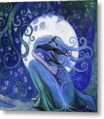 Prayer Metal Print by Amanda Clark