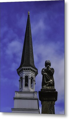 Praying Angel Metal Print by Garry Gay