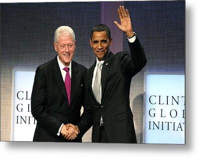 President Bill Clinton, President Metal Print by Everett