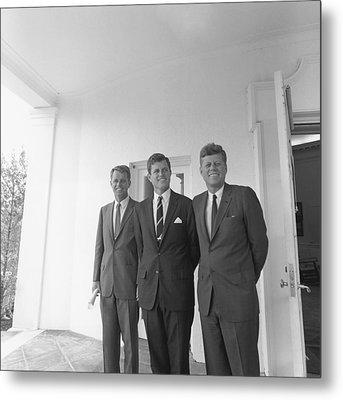 President John Kennedy Metal Print by Everett