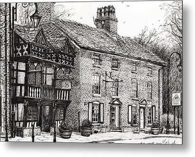 Prestbury Metal Print by Vincent Alexander Booth