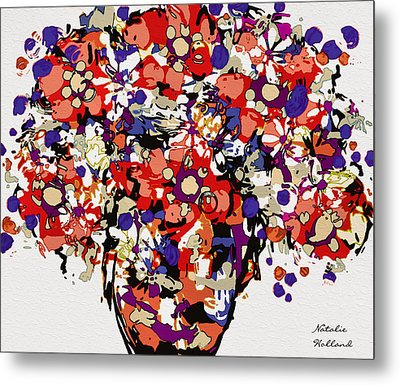 Pretty Bouquet Metal Print by Natalie Holland