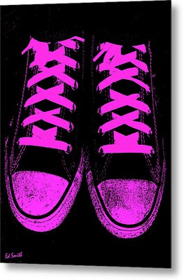 Pretty In Pink Metal Print by Ed Smith