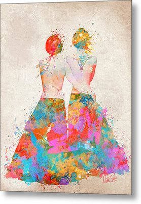 Pride Not Prejudice Metal Print by Nikki Marie Smith