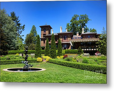 Princeton University Prospect Gardens And House Metal Print by Olivier Le Queinec