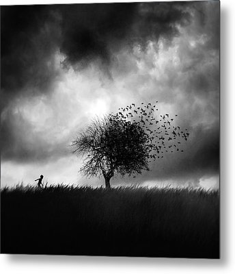 Printemps Perdu Metal Print by Sebastien Del Grosso