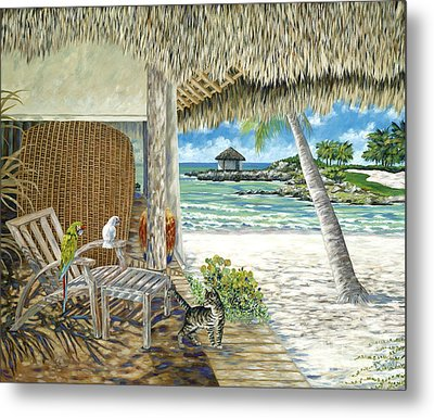 Private Island Metal Print by Danielle  Perry