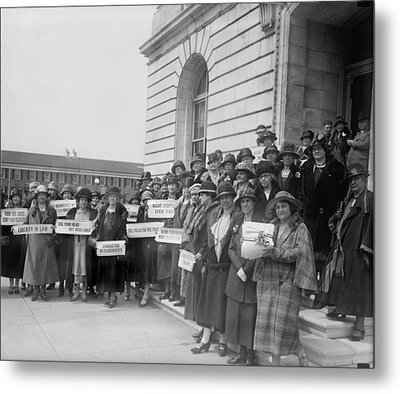 Prohibition, Women From New Jersey Metal Print by Everett