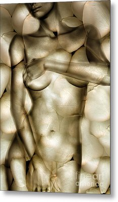 Protected Metal Print by Jacky Gerritsen