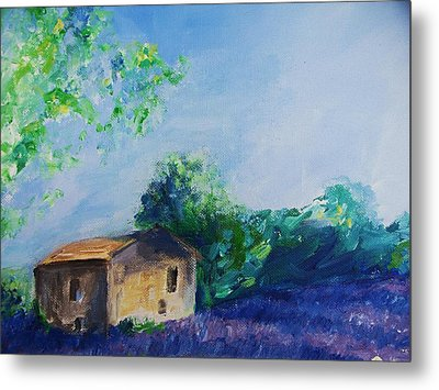 Provence House Metal Print by Eric  Schiabor