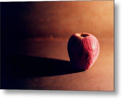 Pruned Apple Still Life Metal Print by Michelle Calkins