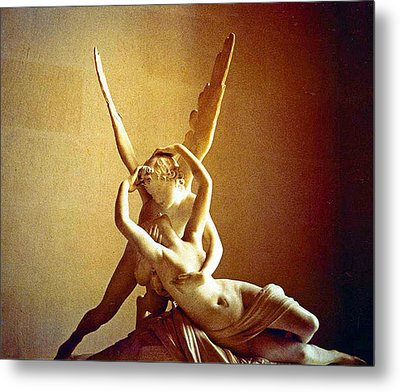 Psyche And Cupid Metal Print by Michael Durst