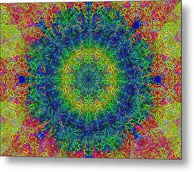 Psychedelicize Metal Print by Bill Cannon
