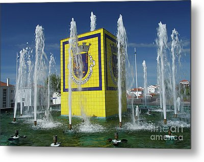 Public Fountain Metal Print by Gaspar Avila