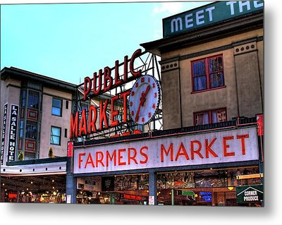 Public Market II Metal Print by David Patterson