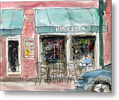 Pucketts Grocery Metal Print by Tim Ross
