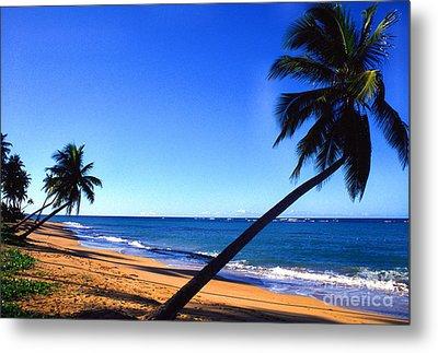 Puerto Rico Beach Metal Print by Thomas R Fletcher