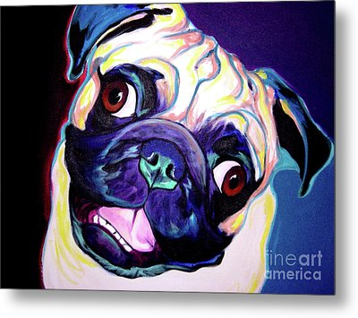 Pug Rider Painting By Alicia Vannoy Call