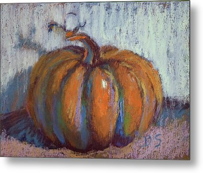 Pumpkin Plenty Metal Print by Donna Shortt