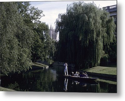 Punters Glide Past Trinity College Metal Print by Taylor S. Kennedy