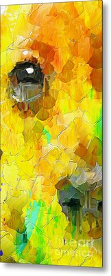 Puppy Eye In The Colors 2 Metal Print by Stefano Senise