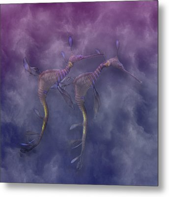 Purple Haze Metal Print by Betsy Knapp