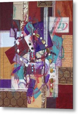 Purple Passion Metal Print by Sue Gilliam