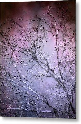 Purple Twilight   Metal Print by Ann Powell
