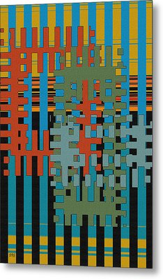 Puzzled Metal Print by Ben and Raisa Gertsberg