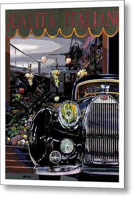 Qualita Italiano Metal Print by Mike Hill