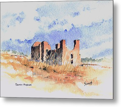 Quarari Mission Metal Print by Sam Sidders
