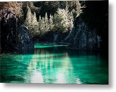 Quarry Waters Metal Print by Danielle Silveira