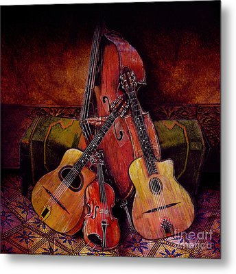 Quartet Metal Print by Sol Robbins