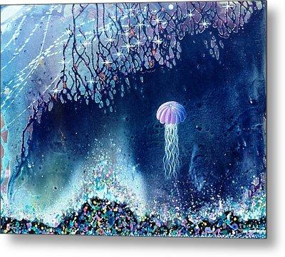 Queen Of The Starry Reef Metal Print by Lee Pantas