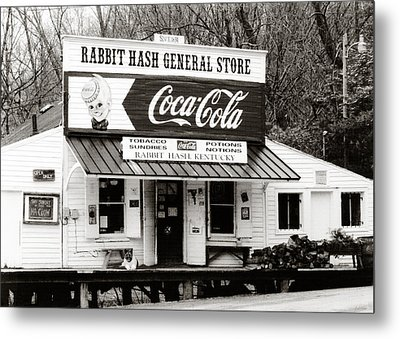 Rabbit Hash General Store- Photogaphy By Linda Woods Metal Print by Linda Woods