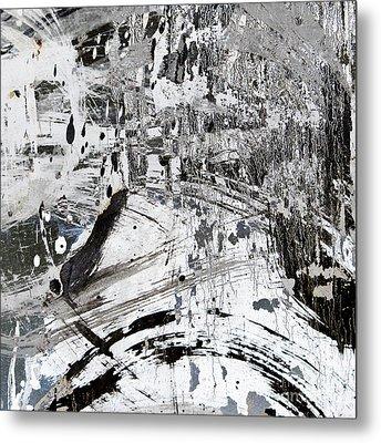 Rain Metal Print by Elena Nosyreva