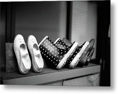 Rain Shoes Metal Print by Snap Shooter jp